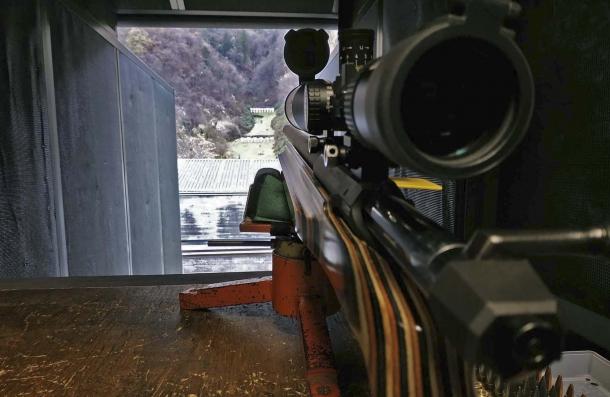 La carabina Sabatti Tactical di Roberto Capelli sulla linea di tiro