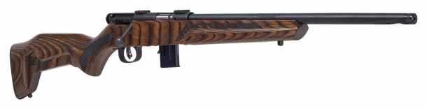 Savage Arms Minimalist line of bolt-action rifles: rimfire, redefined