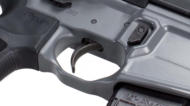 Detail of the new SIG Matchlite Duo trigger
