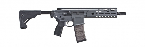 Right view of the new SIG MCX VIRTUS SBR