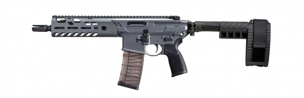Left view of the new SIG MCX VIRTUS Pistol
