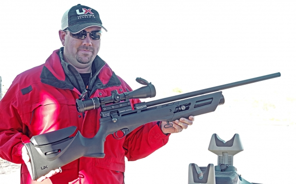 The Umarex Gauntlet air rifle was originally introduced at the 2017 SHOT Show