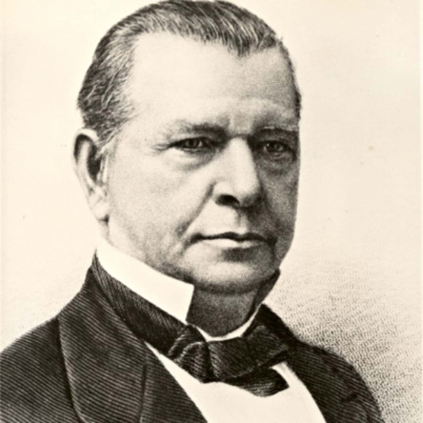 Oliver Fisher Winchester, founder of the Winchester Repeating Arms Company