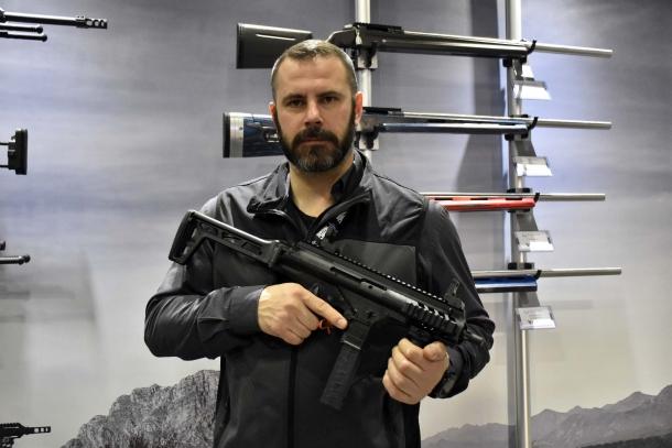 Beretta PMX, la nuova pistola mitragliatrice