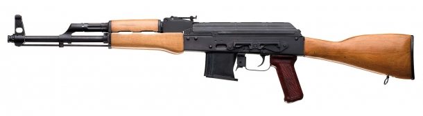 Left side view of the Chiappa Firearms AK-22 rifle