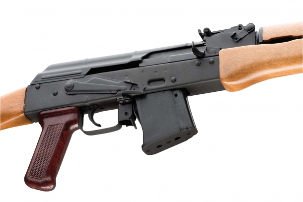 The Chiappa Firearms AK-22 carbine is chambered for the .22 Long Rifle rimfire caliber