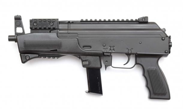 Left side view of the Chiappa Firearms AK-9 pistol