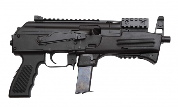 Right side view of the Chiappa Firearms AK-9 pistol