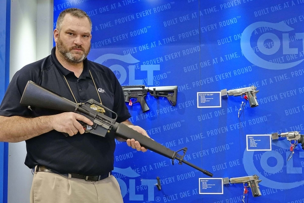 The Colt M16A1 Reissue rifle is a collector item