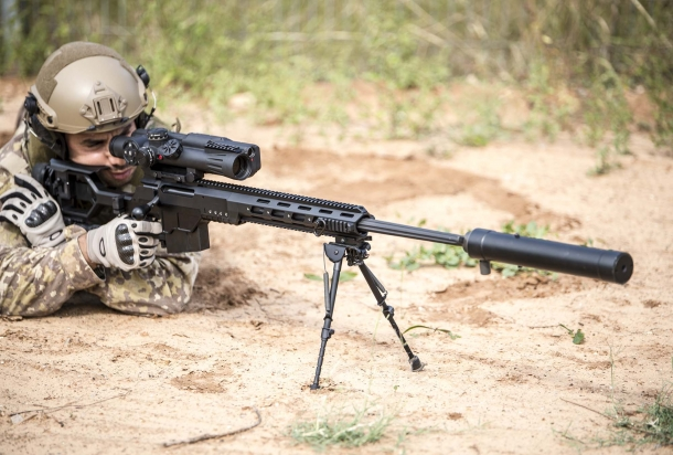 IWI DAN .338: born for tactical uses and now soon available also in the civilian market