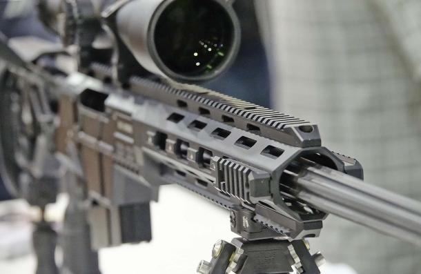 L'astina del fucile è dotata di rail Picatinny pronti ad accettare qualunque tipo di accessorio