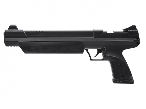 The Umarex Strike Point spring-operated air pistol