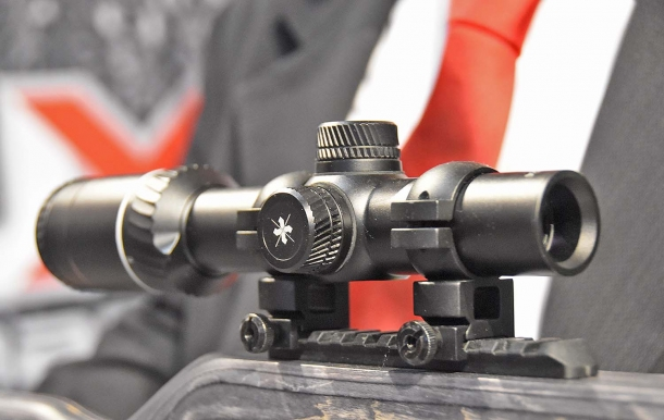 Axeon optics on display at the Umarex booth