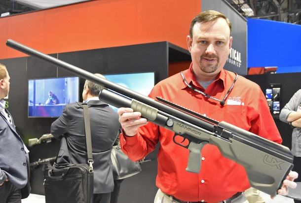 The Umarex Hammer: a 700 ft. lb. 50 caliber PCP air rifle, intended for airgun hunters