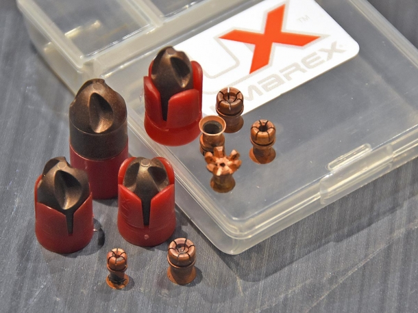 Polycase ARX bullets and Umarex Havox copper pellets