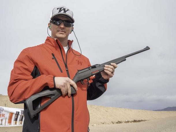 Fucile semi-automatico Winchester Wildcat calibro .22 Long Rifle