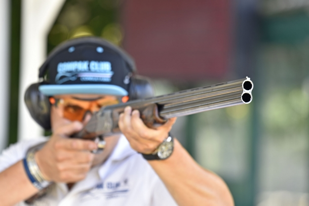 Beretta 695, il sovrapposto