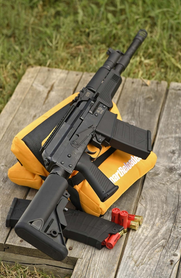 AK-12s: clearly an AK derivative – with some AR-15 intrusions