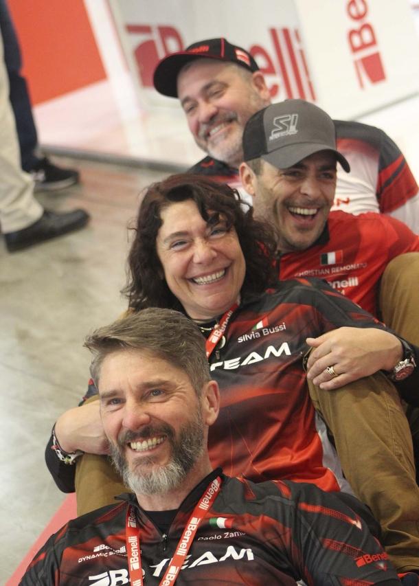 Alcuni membri del Be Team: Pierfrancesco Pasini, Christian Remonato, Slivia Bussi, Paolo Zambai
