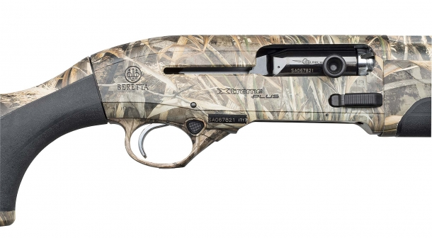 The A400 Xtreme Plus Max 5 features a full Realtree MAX-5 camo finish on all surfaces