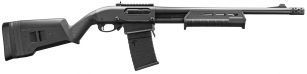 Il Remington 870 DM con plastiche MagPul