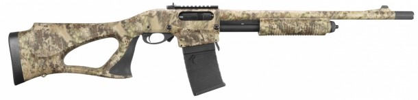 "The Remington 870 DM ""Predator"" shotgun was specifically conceived for hunting"