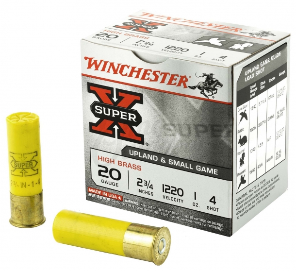 Winchester Super X4 shotgun, now in 20 gauge
