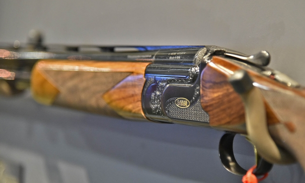 The Invictus System is the world's most solid locking system for an over-under shotgun