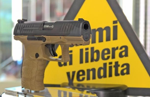 La pistola marcatrice Umarex Walther PPQ M2 T4E in calibro .43
