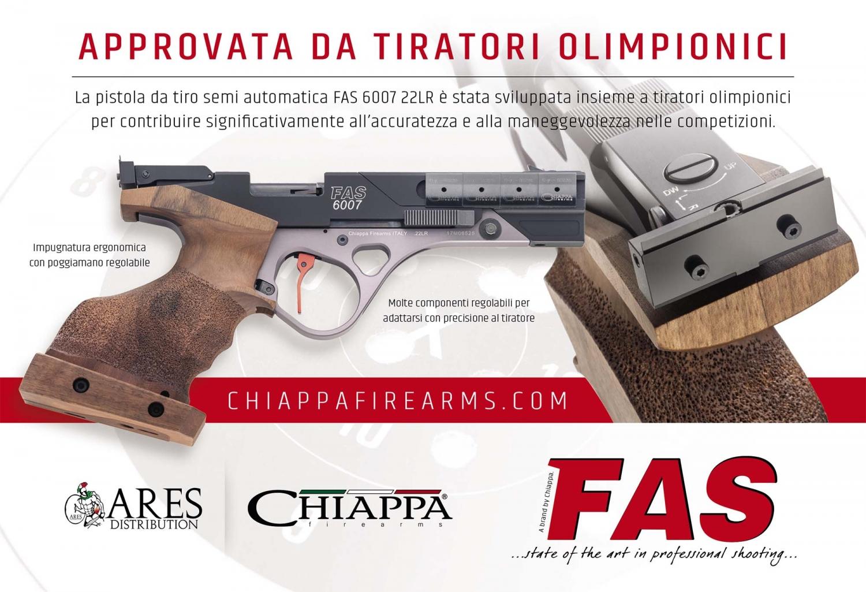 Chiappa FAS 6007, la pistola da competizione