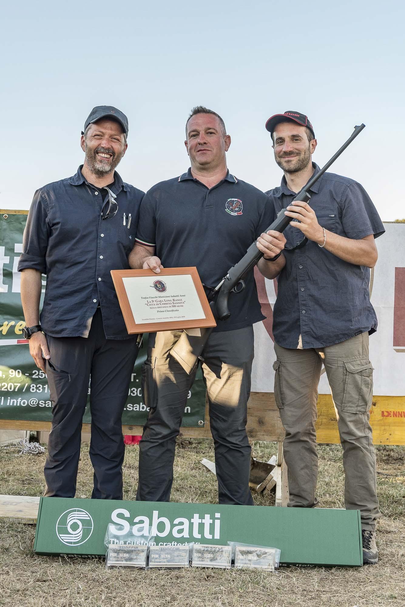 Il primo posto e relativi premi sono andati a Ivan Bettiga, dello Shooting Team TLD Lecco (con il punteggio di 97/100 + 6 mouches)