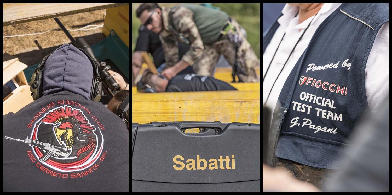 """Samnium Shooting Club, Sabatti e ovviamente Fiocchi Munizioni: che grazie alla passione di Giorgio Pagani è stata """"l'iniziatrice"""" dell'evento."""