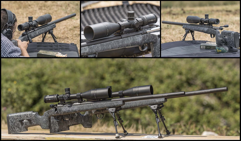 Le due carabine Sabatti Tactical EVO in calibro .308 Winchester a disposizione di tutti i tiratori, con otticheSightmark Latitude 10-40x60 F-Class