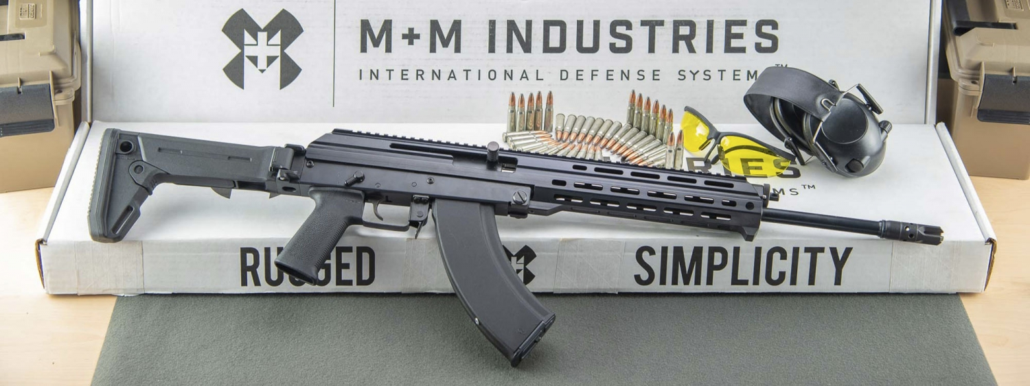 M+M Industries M10X in calibro 7,62x39 Russo