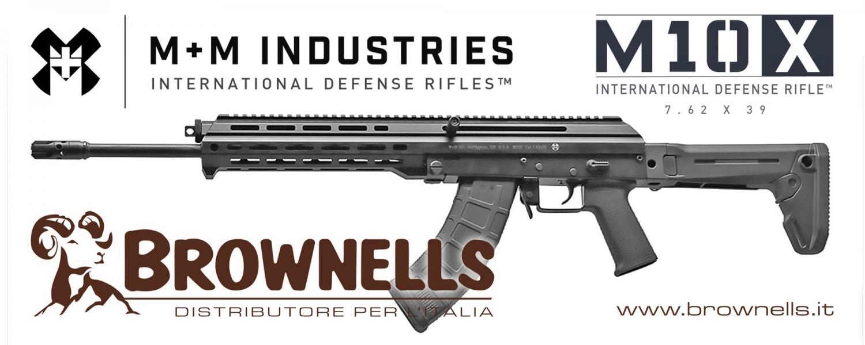 Brownells Italia: MM Industries M10X, il fucile… internazionale