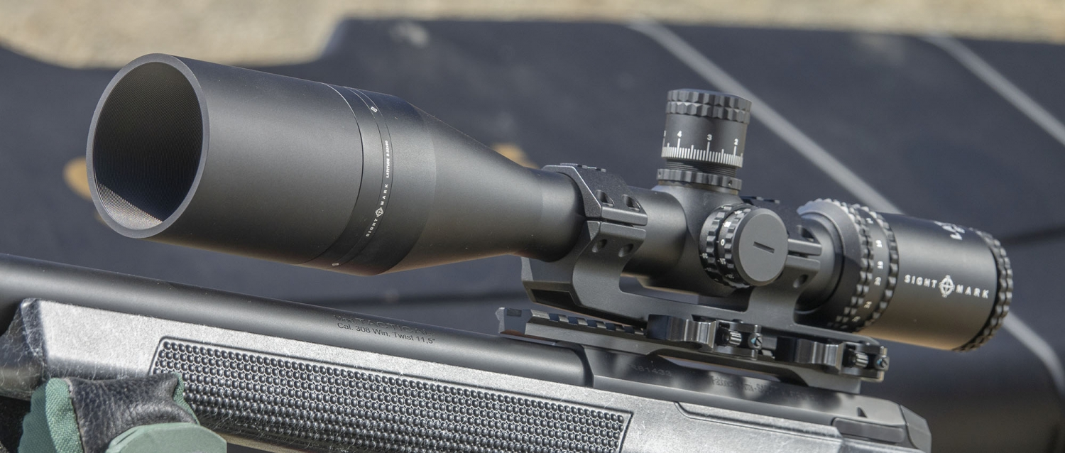 The Sabatti Tactical EVO rifle is drilled and tapped for a Picatinny rail, providing a solid mounting base for any sighting system