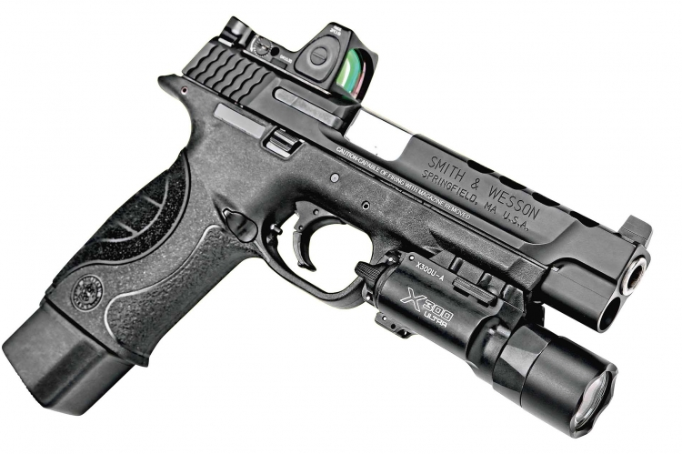 Video smith wesson m p9 shield and m p core pistols for M p ported core 9mm