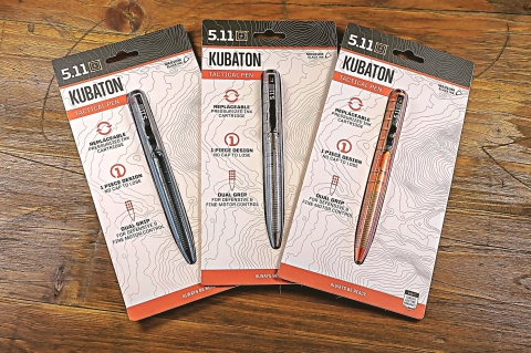 5.11 Kubaton: the tactical pen for everyone