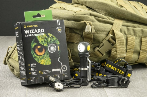 Armytek Wizard C2 Pro, la torcia tattica multiuso