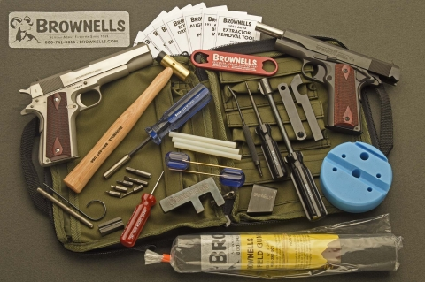 The Maintenance Field Pack for Colt 1911 pistol platforms