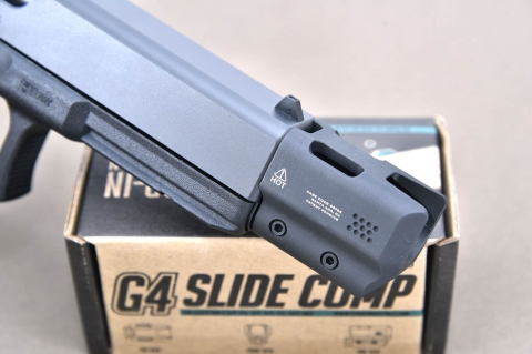 VIDEO: Da Brownells, Strike Industries G4 SlideComp, il compensatore per Glock... facile facile!
