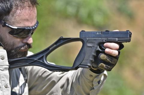 Bubits ArmBrace G1: il calciolo per le Glock
