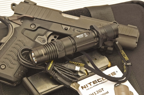The new Nitecore MH12GT flashlight
