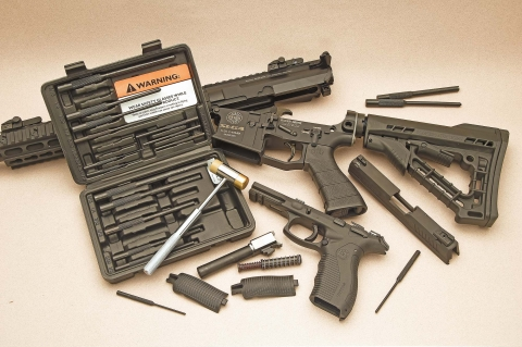 Wheeler Master Roll Pin Punch Set
