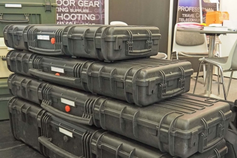 Explorer Cases RED gun cases