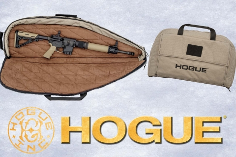 Hogue announces new Flat Dark Earth gear bags