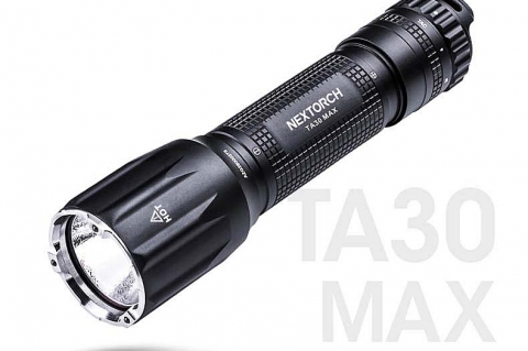 Nextorch TA30 MAX tactical flashlight