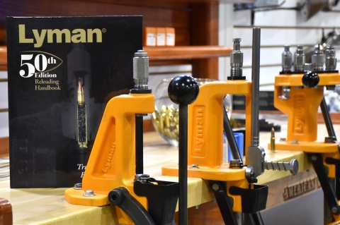 Lyman Brass Smith Ideal reloading press
