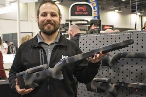 Calci McMillan Z1 e Z10 in fibra di vetro per azioni Remington 700
