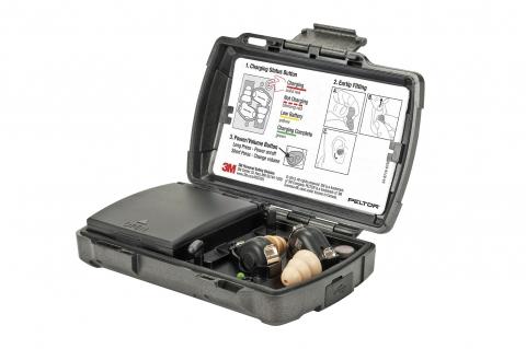 3M PELTOR TEP-100: gli auricolari tattici ricaricabili